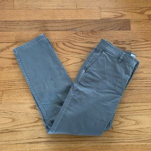 J. Crew Vintage Straight Pants in Dove Grey, Sz 26